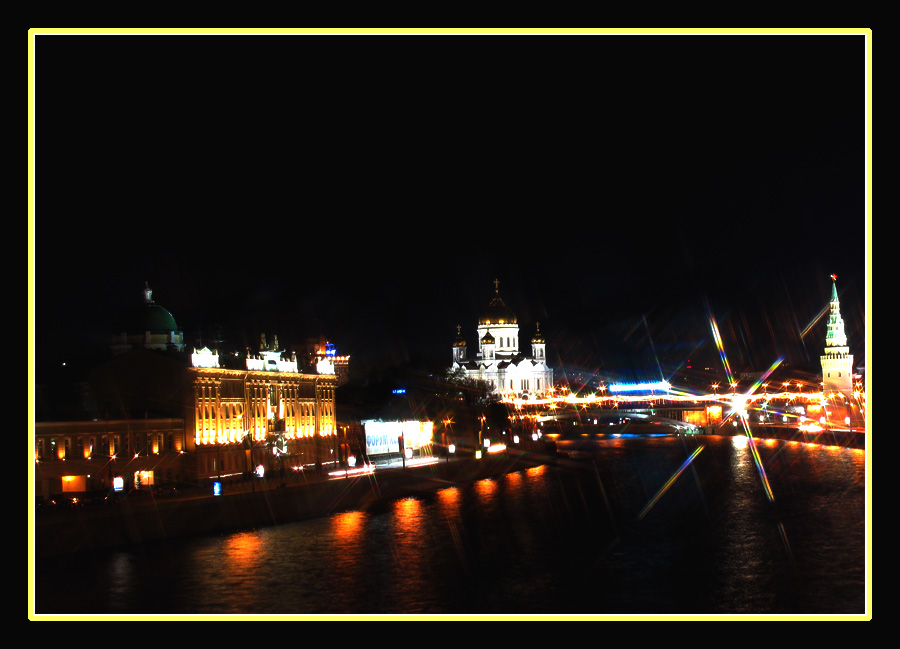 "photo ""Lights of Moscow"" tags: architecture, landscape,"