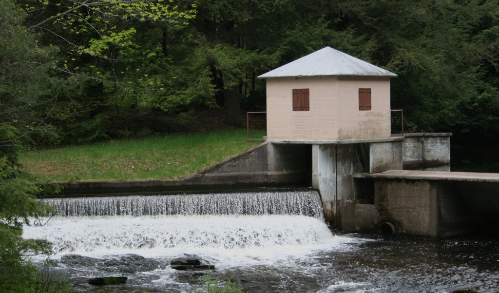 "photo ""Spring Brook Water Supply"" tags: landscape, water"