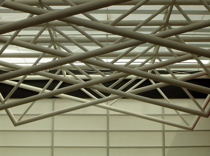 "photo ""Tomie Ohtake V"" tags: architecture, landscape,"