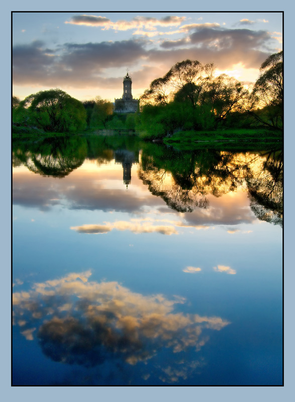 "photo ""Silent"" tags: landscape, sunset"