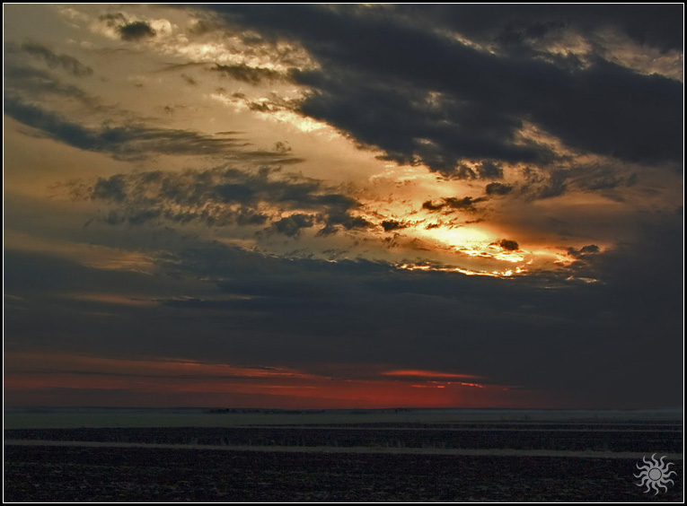 "photo ""Sundown"" tags: landscape, sunset"