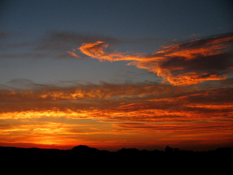 "photo ""Strange clouds before sunrise"" tags: ,"
