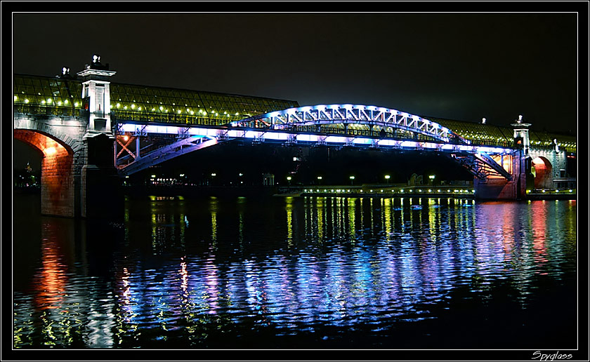 """photo """"Reflections"""" tags: architecture, landscape, night"""