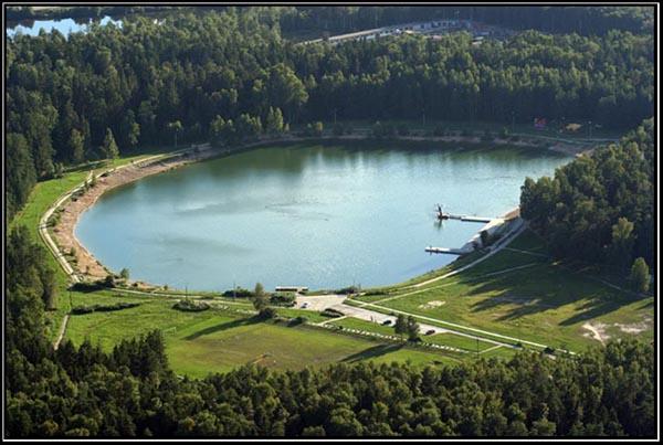 "photo ""Southern lake"" tags: landscape, water"