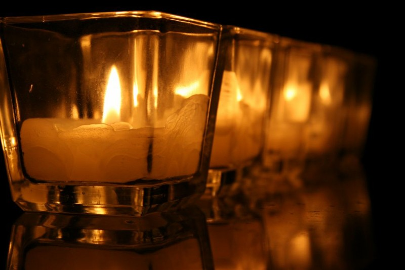 "photo ""Study of Candle Light 4"" tags: still life,"