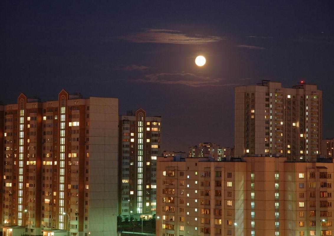 ночные окна москвы картинки интерьере