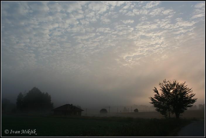 "photo ""Morning"" tags: landscape, sunset"