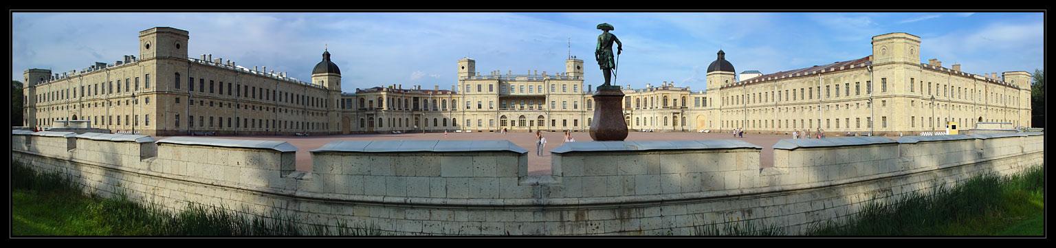 "photo ""Gatchina. The Panorama of Palace"" tags: panoramic,"