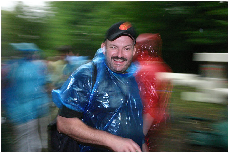 "photo ""Splash of optimism under a summer rain"" tags: portrait, genre, man"