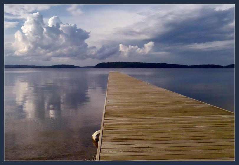 "фото ""Озеро Иматра"" метки: пейзаж, вода, лето"