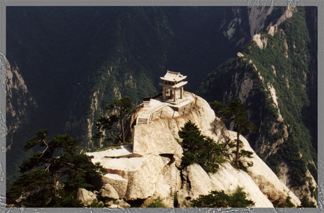 """photo """"Good place for meditate"""" tags: landscape, architecture, mountains"""
