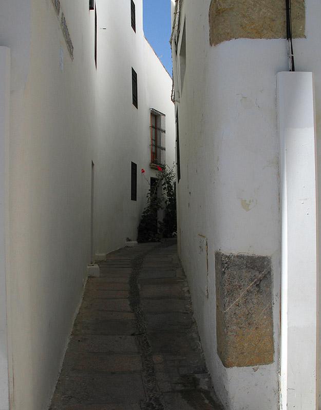 "photo ""Cordoba street"" tags: architecture, landscape,"