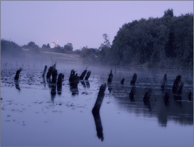 "photo ""Lilac fog"" tags: landscape, nature, water"