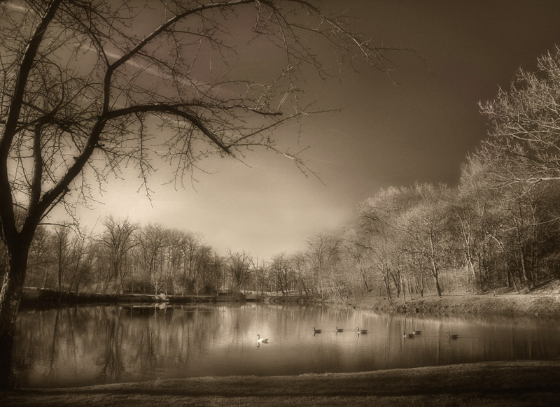 """фото """"The Lake"""" метки: пейзаж, осень"""