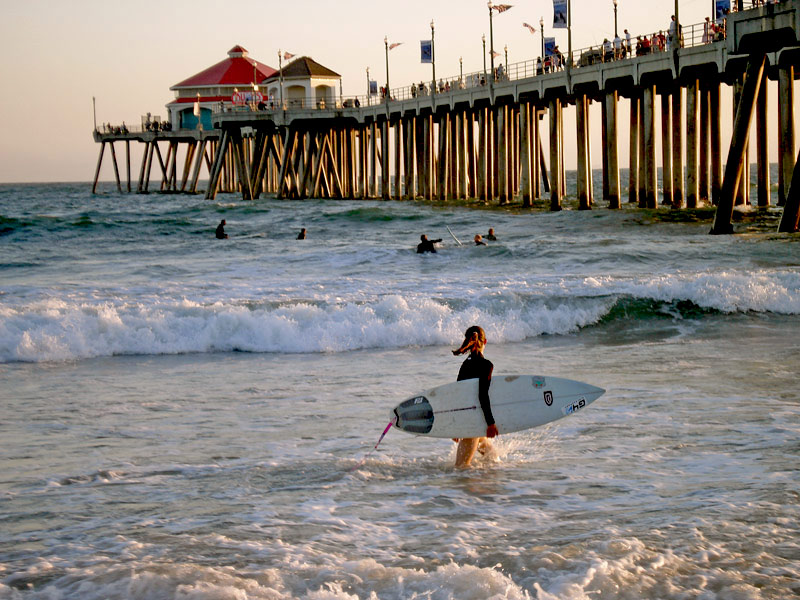 "фото ""First surf board"" метки: пейзаж, вода"