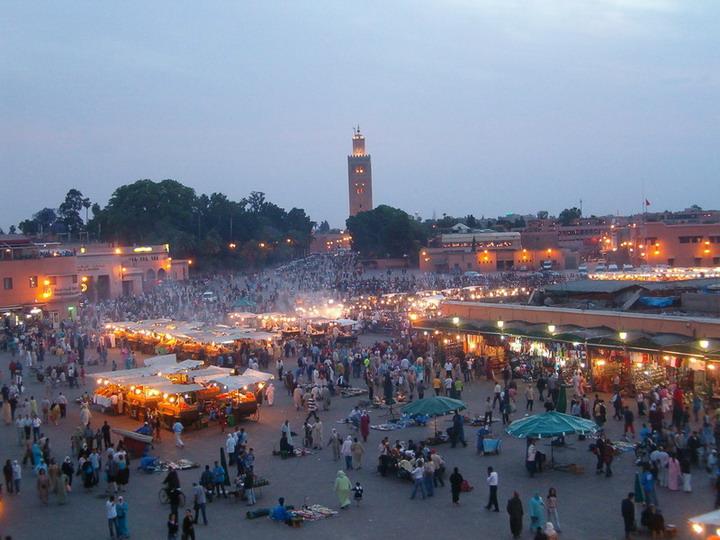 "photo ""marrakech, place Jema el fna"" tags: ,"
