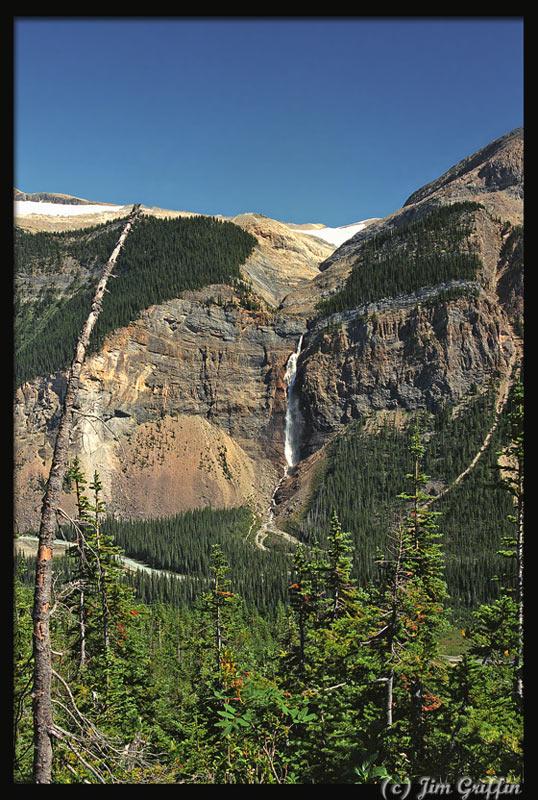 "фото ""Source of Takkakaw falls"" метки: пейзаж, вода, горы"