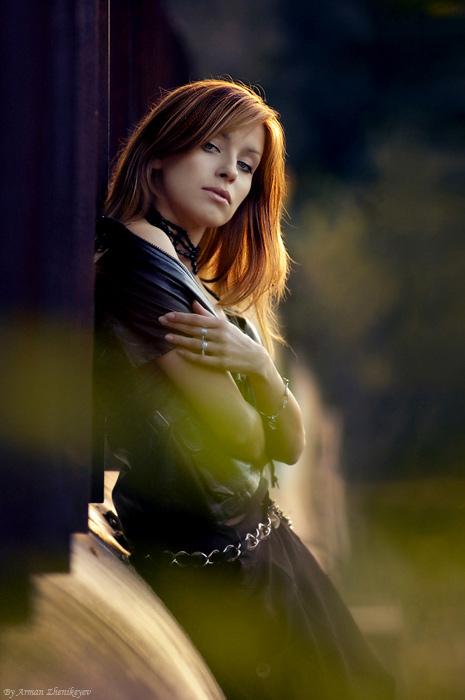 """photo """"Autumn Portrait"""" tags: portrait, woman"""