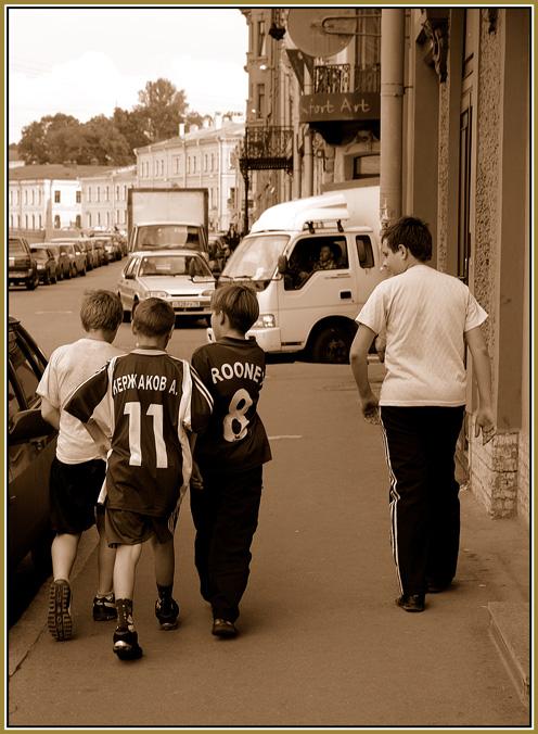 """фото """"O футболе..."""" метки: жанр,"""