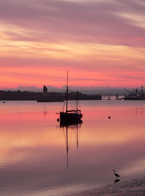 "фото ""Pink Morning"" метки: пейзаж, закат"
