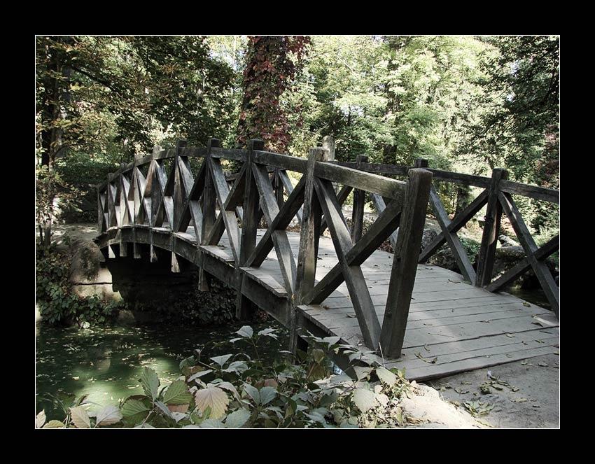 "photo ""A Dream Bridge"" tags: travel, landscape, Europe, forest"