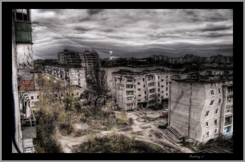 """photo """"Разруха"""" tags: architecture, landscape,"""
