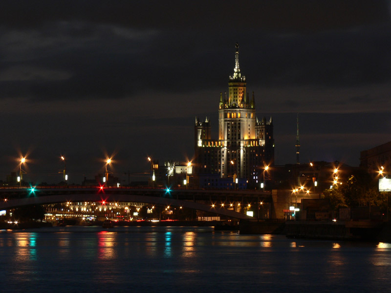 "photo ""The Night in Moscow"" tags: ,"