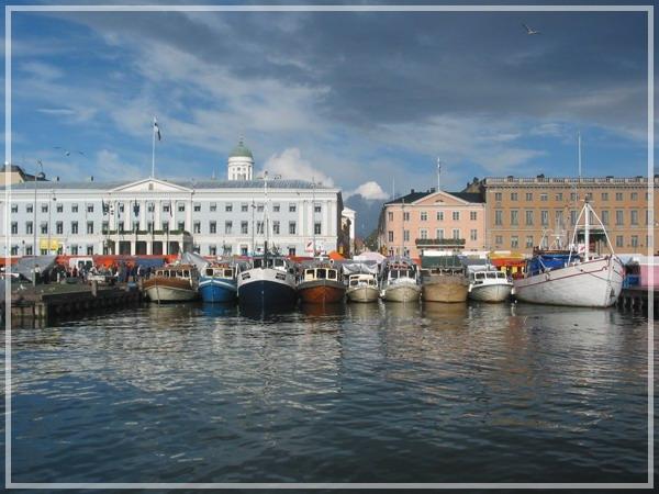 """фото """"Helsinki Harbour (SF)"""" метки: архитектура, путешествия, пейзаж, Европа"""