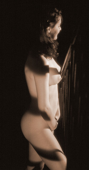 "фото ""Zebra Silvie"" метки: ню, черно-белые,"