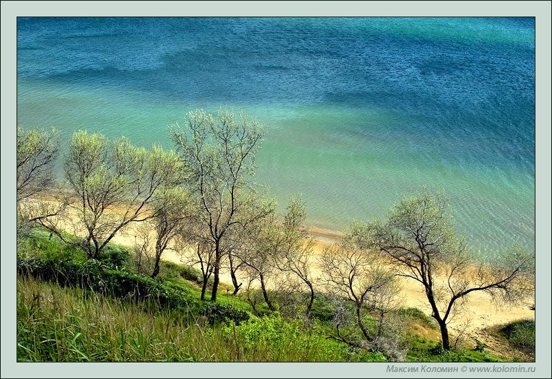 "photo ""Blue-green Black sea"" tags: landscape, water"