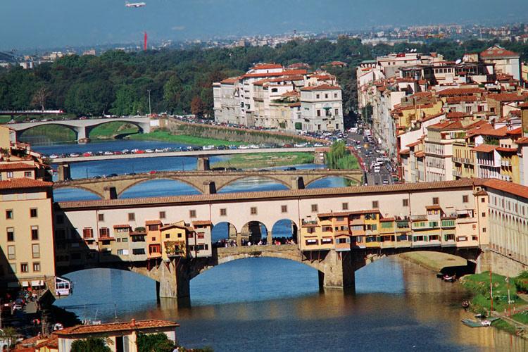 "фото ""Понте Веккио"" метки: архитектура, путешествия, пейзаж, Европа"