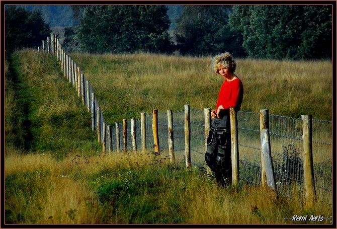 "фото ""girl to the border"" метки: портрет, пейзаж, женщина"