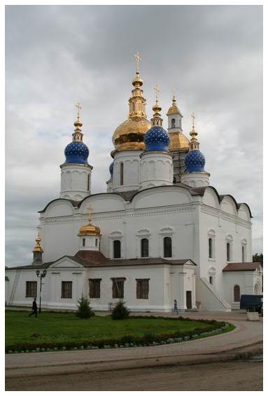 """фото """"г. Тобольск, Церковь"""" метки: архитектура, пейзаж,"""