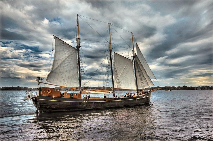 "фото ""На всех парусах"" метки: пейзаж, вода"