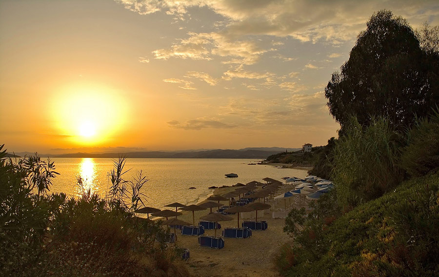 "фото ""Эгейский закат # 5"" метки: пейзаж, вода, закат"