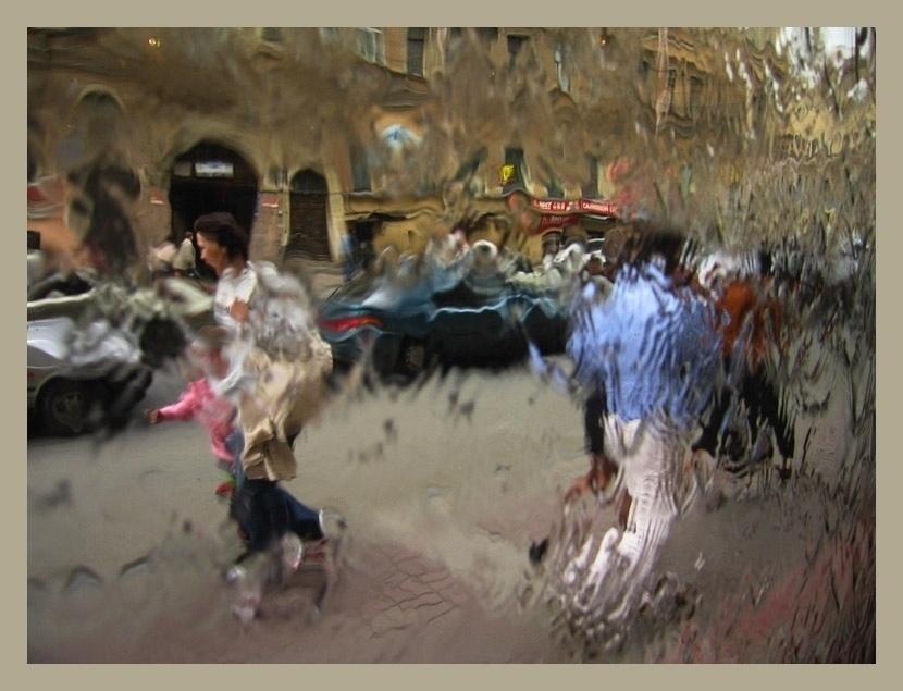 """фото """"Убежать от дождя"""" метки: жанр, репортаж,"""