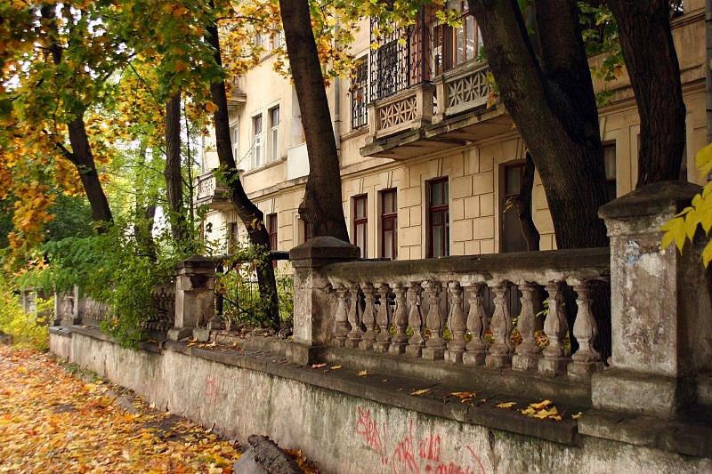 "фото ""Увядание..."" метки: пейзаж, архитектура, осень"