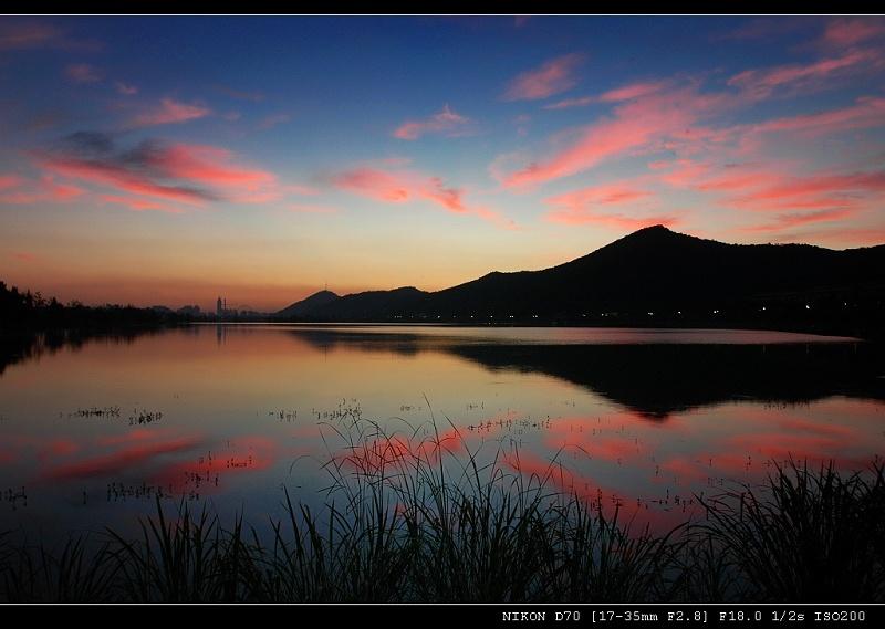 """фото """"Xiang lake"""" метки: пейзаж, путешествия, Азия, вода"""