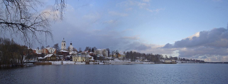 Мышкин город фото зимой