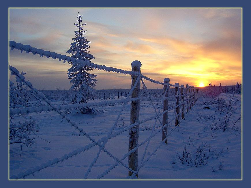"""фото """"Архипелаг ГУЛАГ"""" метки: пейзаж, закат"""