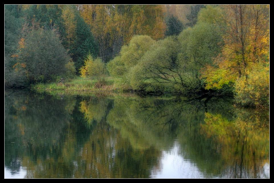 "photo ""Fisherman"" tags: landscape, autumn, water"