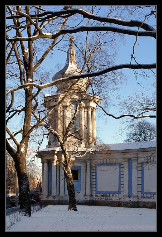 "photo ""Smolny monastery"" tags: architecture, landscape,"