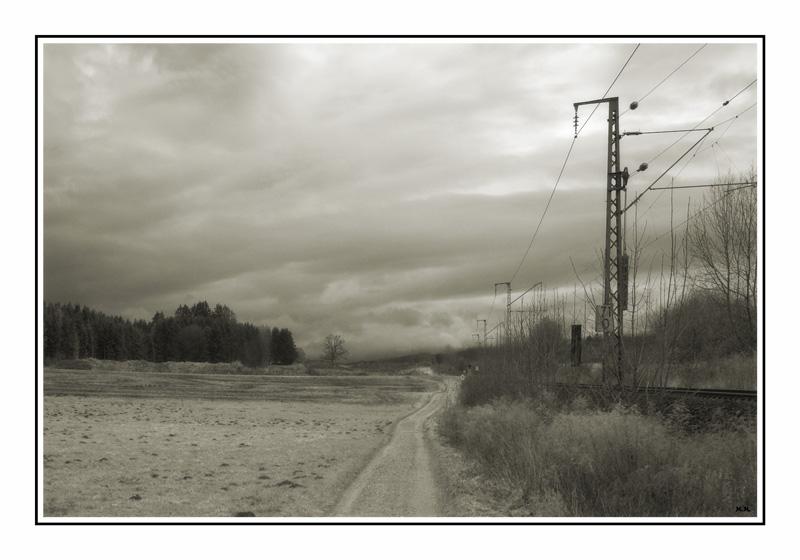 "photo ""Rail road"" tags: landscape,"
