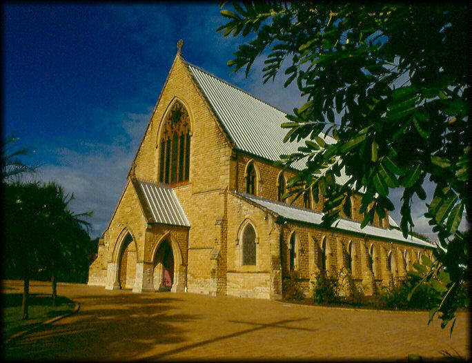 """photo """"Church In Oz"""" tags: travel, architecture, landscape, Australia"""