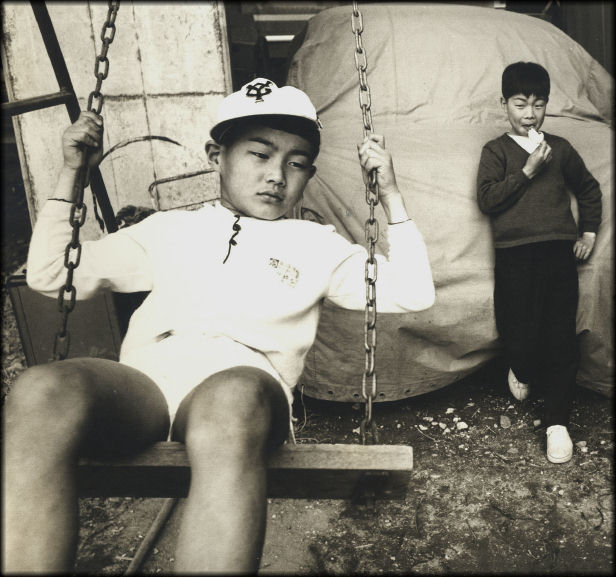 "photo ""Japanese Boys"" tags: portrait, reporting, children"
