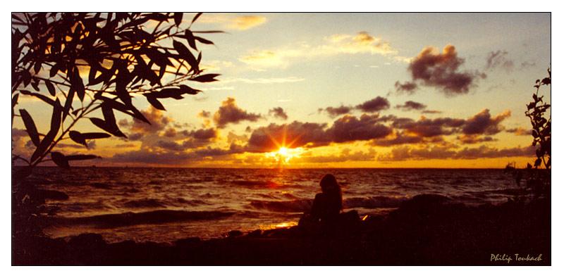 """фото """"Waiting"""" метки: пейзаж, закат"""