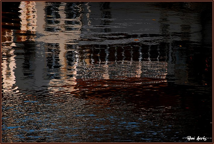 "фото ""pink house reflection"" метки: пейзаж, архитектура, вода"
