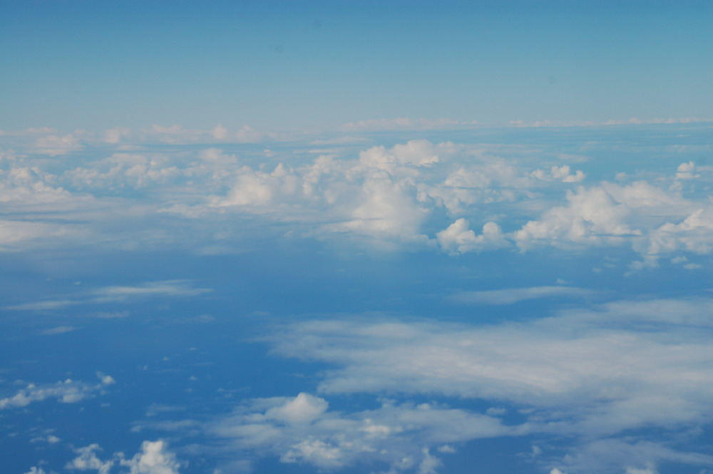 """photo """"View from Above 3"""" tags: landscape, clouds"""