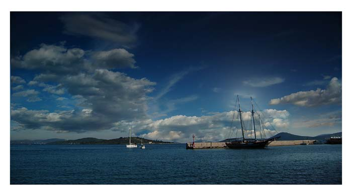 "photo ""Vodice Landscape"" tags: landscape, summer, water"
