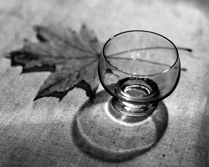 "photo ""Glass"" tags: still life, black&white,"